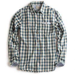 camisadetecidoxadrezmarinho1