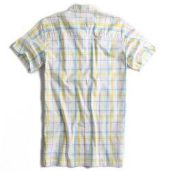 Camisa-de-Tecido-Manga-Curta-Branca