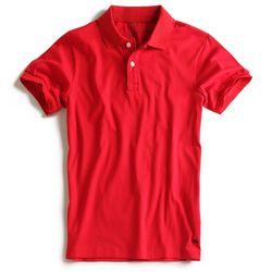 Camisa-Polo-Stretch-Lisa-Especial-Vermelha