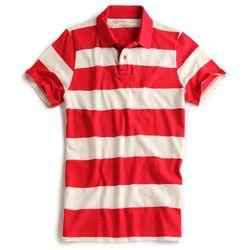 Camisa-Polo-Listrada-Vermelho-Off-Wite