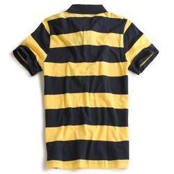 Camisa-Polo-Listrada-Marinho-Amarelo