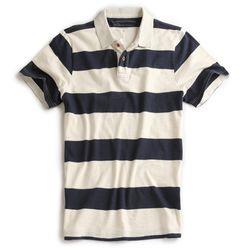 Camisa-Polo-Listrada-Off-White-Marinho