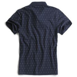 Camisa-Polo-Estampada-Especial-Azul-Marinho