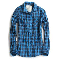Camisa-de-Tecido-Xadrez-Azul-Feminina