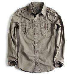Camisa-de-Tecido-Manga-Longa-kaki