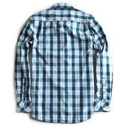 Camisa-de-Tecido-Xadrez-Manga-Longa-Branco-Azul