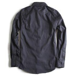 Camisa-de-Tecido-Manga-Longa-Marinho
