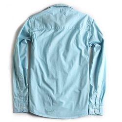 Camisa-de-Tecido-Manga-Longa-Azul-Piscina