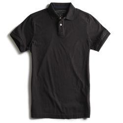Camisa-Polo-Estretch-Lisa-Especial-Preta