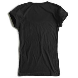T-shirt-Lisa-Preta-Feminina