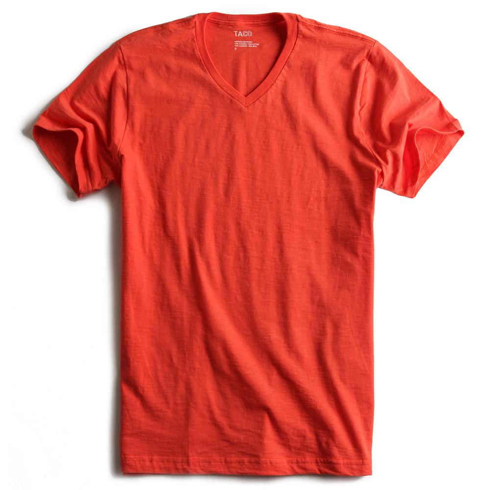 T-shirt-Gola-V-Flame-Laranja