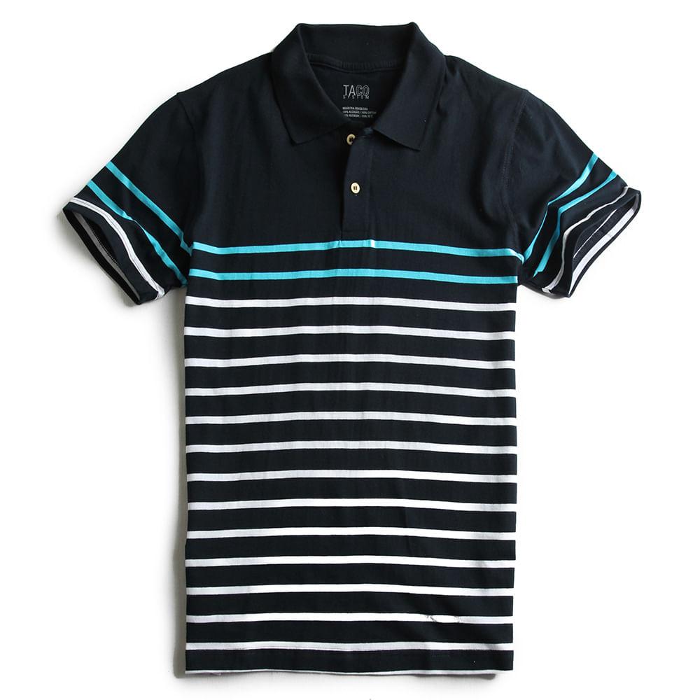 Camisa-Polo-Listrada-marinho-Turquesa
