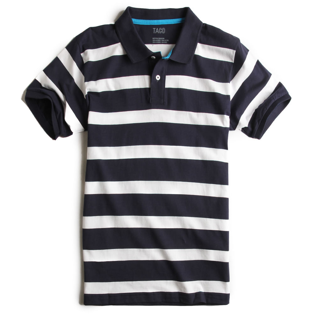 camisa-Polo-Listrada-Marinho-Branco