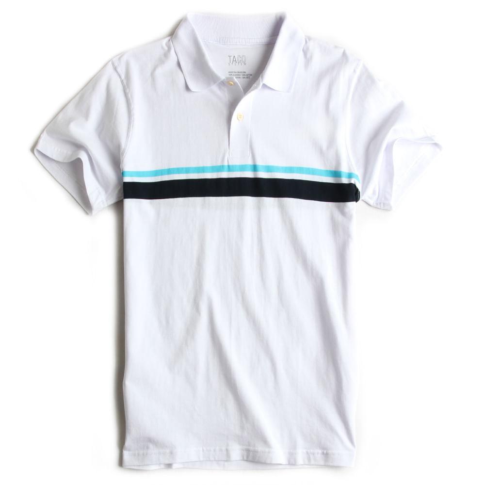 Camisa-Polo-Listrada-Branca