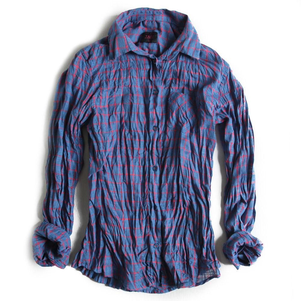 Camisa-de-Tecido-Xadrez-Azul-Pink-Feminina