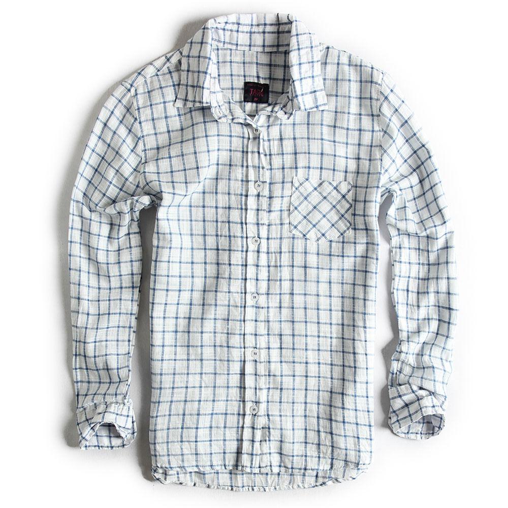 Camisa-de-Tecido-Xadrez-Off-White-Azul-Feminina