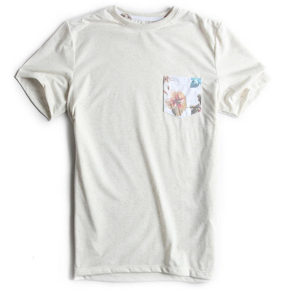 T-shirt-Com-Bolso-Lisa-Cru