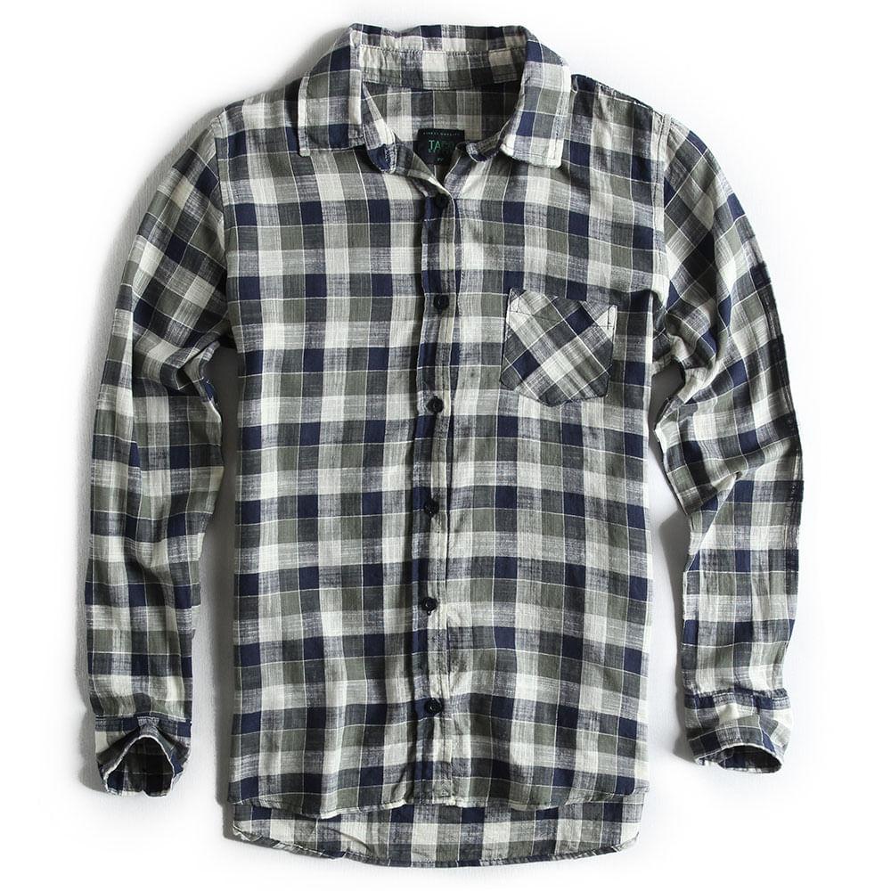Camisa-de-Tecido-Xadrez-Verde-Militar-Feminina