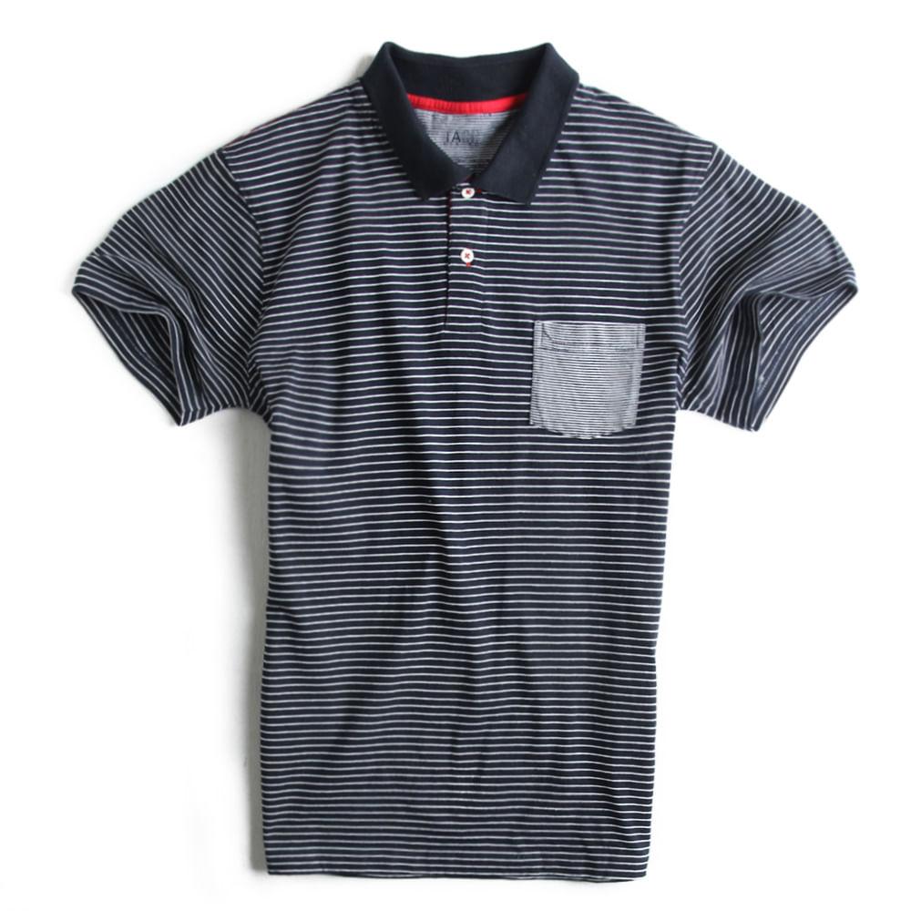 Camisa-Polo-Listrada--Marinho-Branca