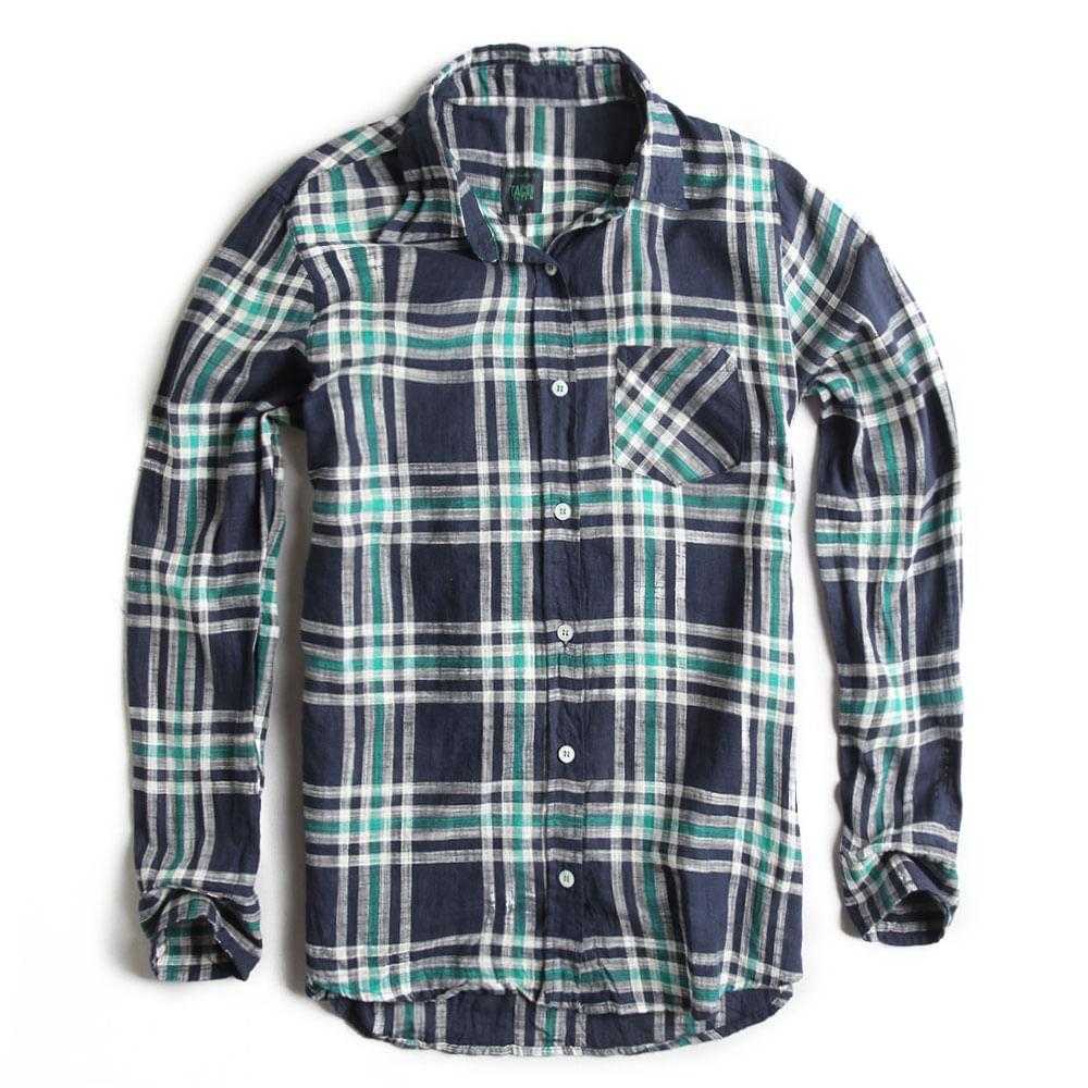 Camisa-de-Tecido-Xadrez-Marinho-Verde-Feminina