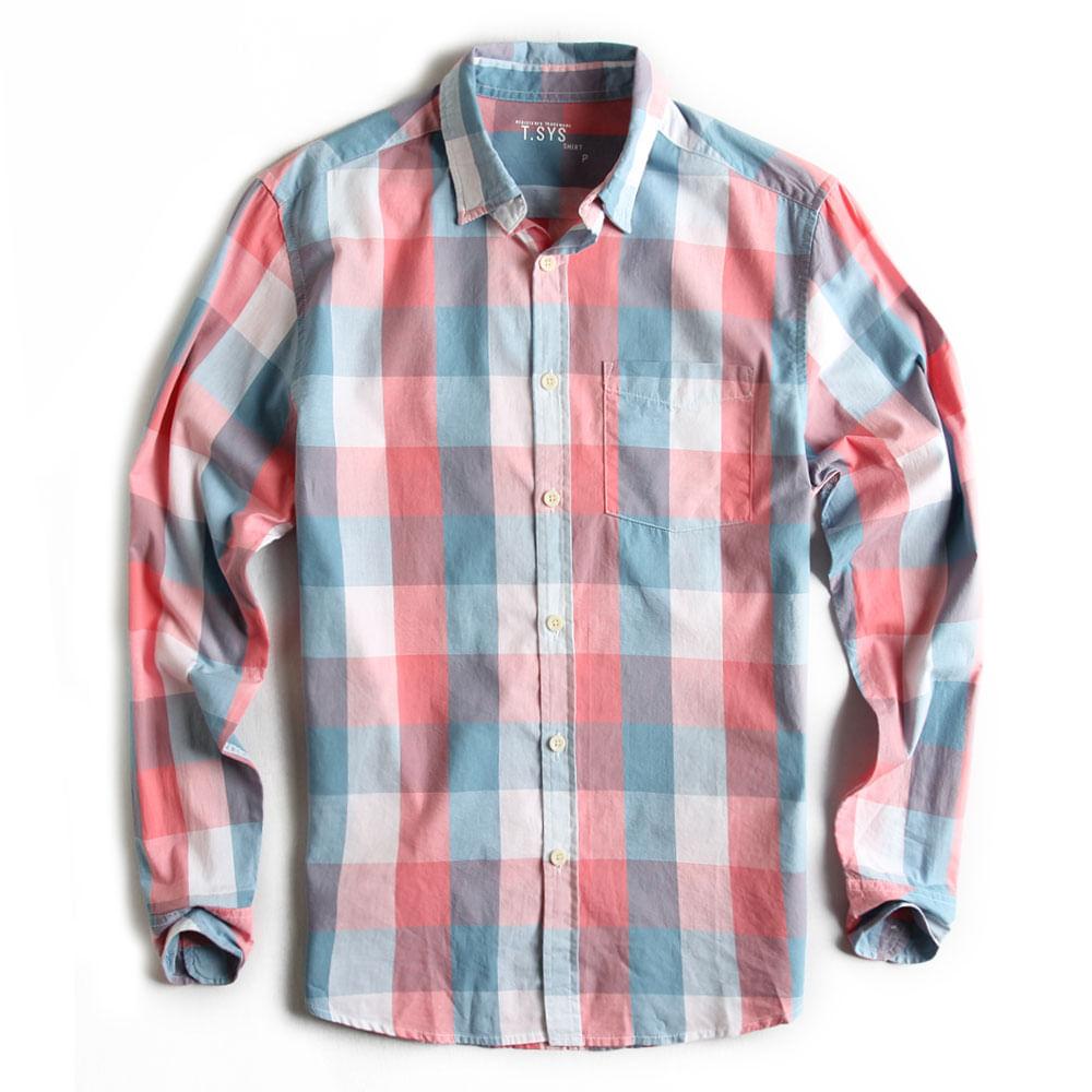 Camisa-Xadrez-Manga-Longa-Goiaba-Branco-Azul