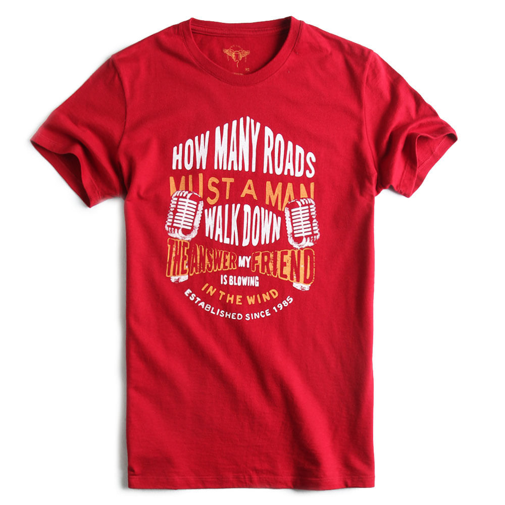 T-shirt-Fit-Estampada-Vermelha
