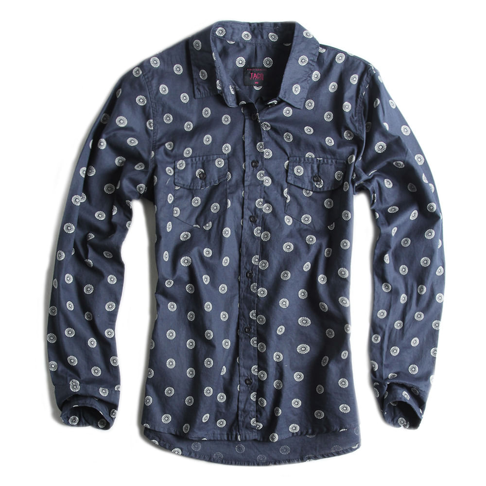 Camisa-De-Tecido-Estampada-Marinho-Feminina