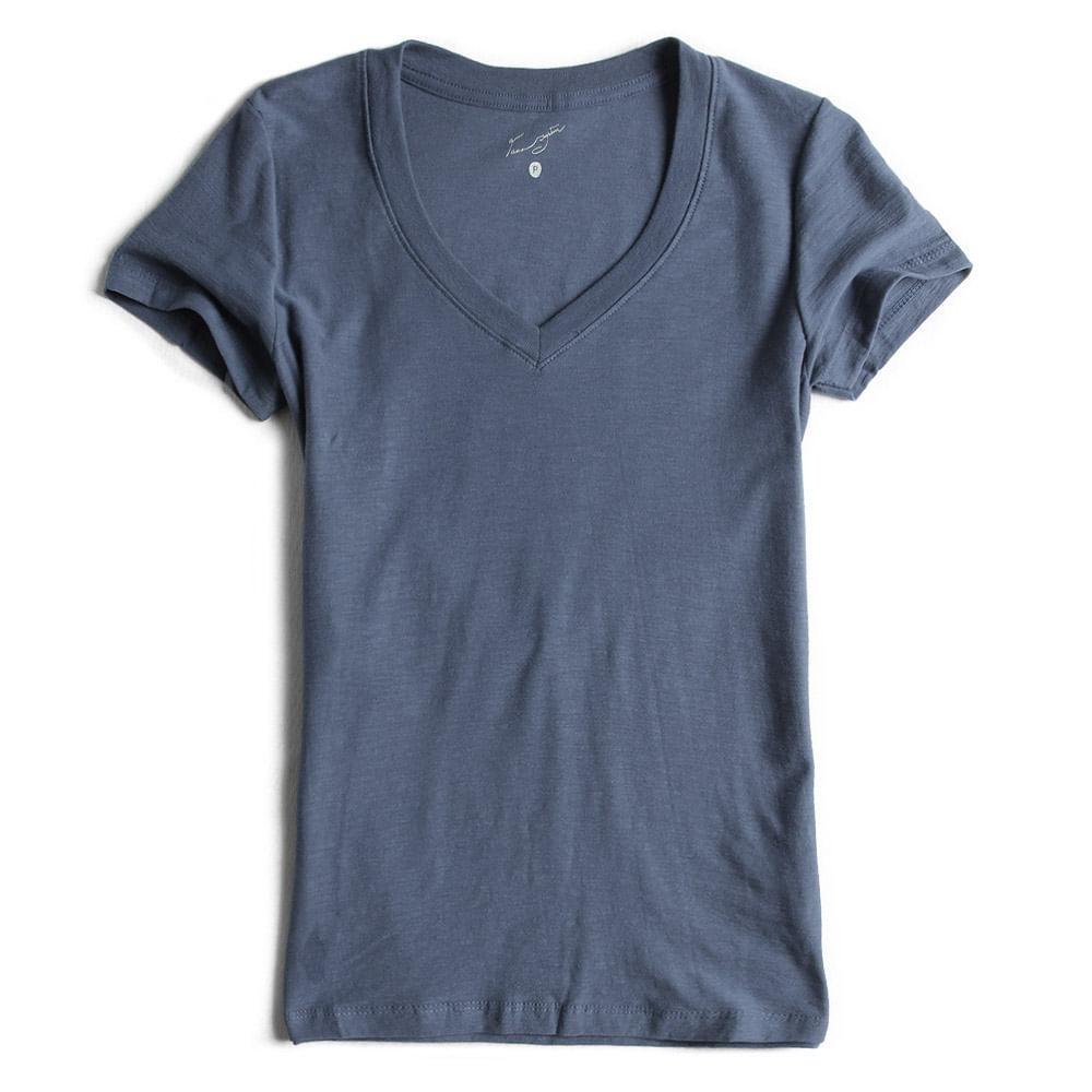 Camisa-Gola-V-Peletizada-Azul-Marinho-Feminina