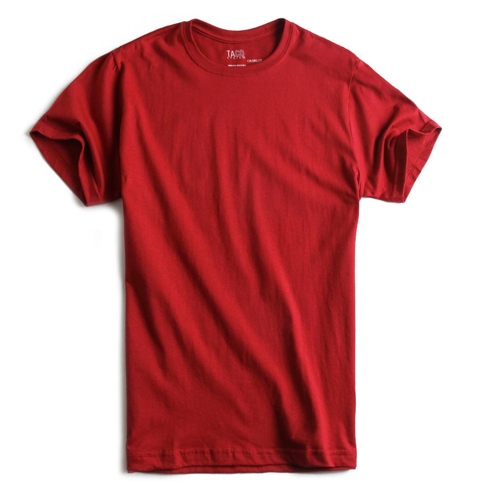 T-shirt-Basica-Fit-Vermelha
