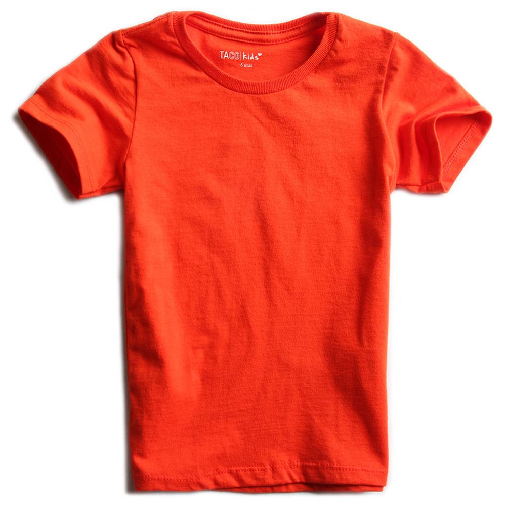 Camisa-Malha-Basica-Laranja-Infantil-Feminina