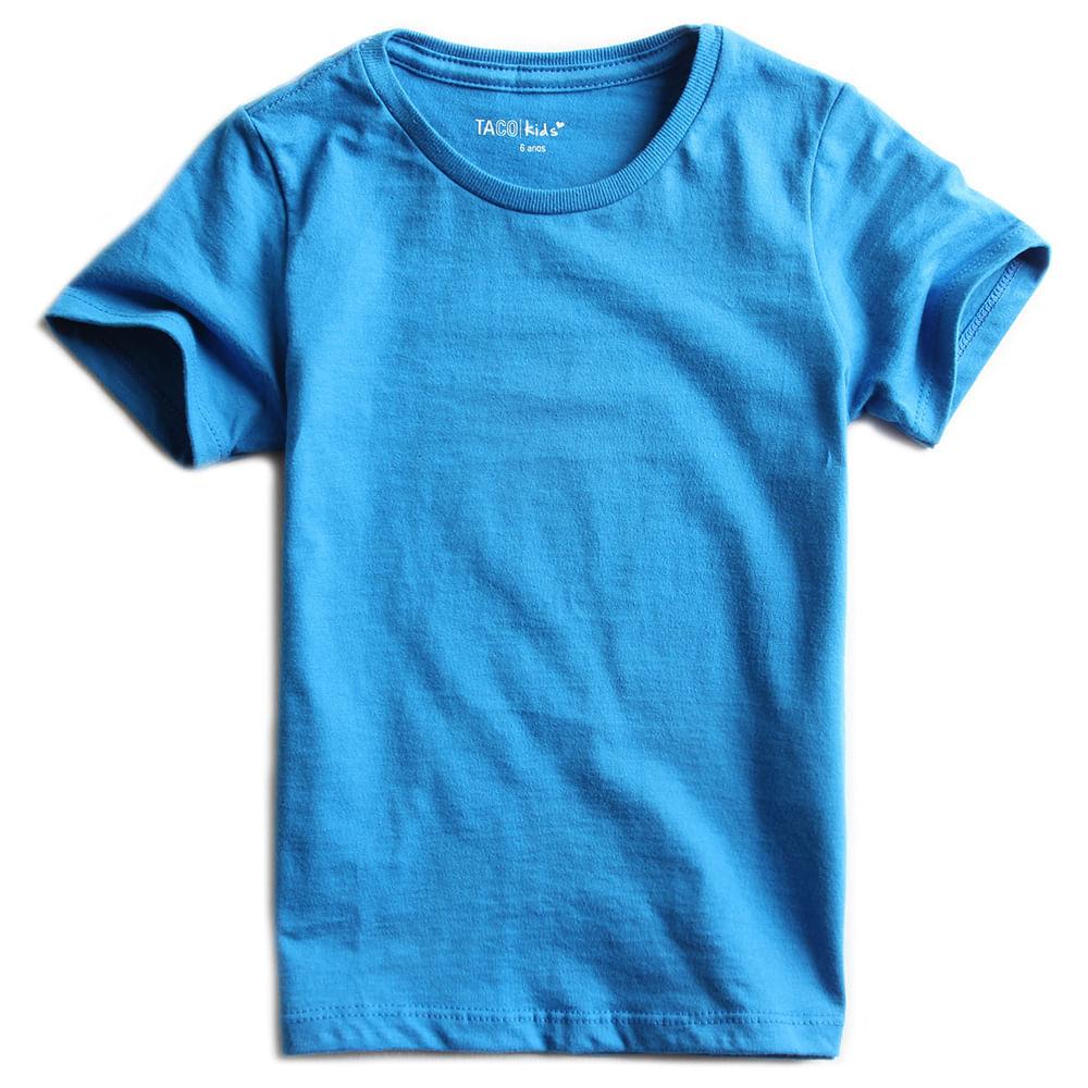 Camisa-malha-Basica-Azul-Royal-Claro-Infantil-Feminina
