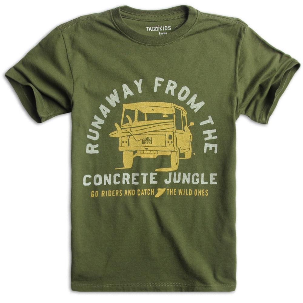 T-shirt-Estampada-Verde-Musgo-Infantil-Masculina