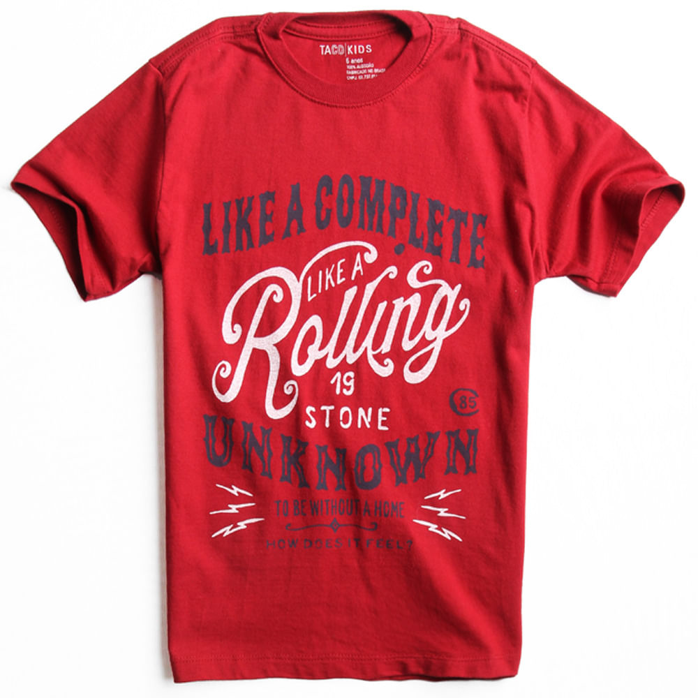 T-shirt-Estampada-Vermelha-Infantil-Masculina