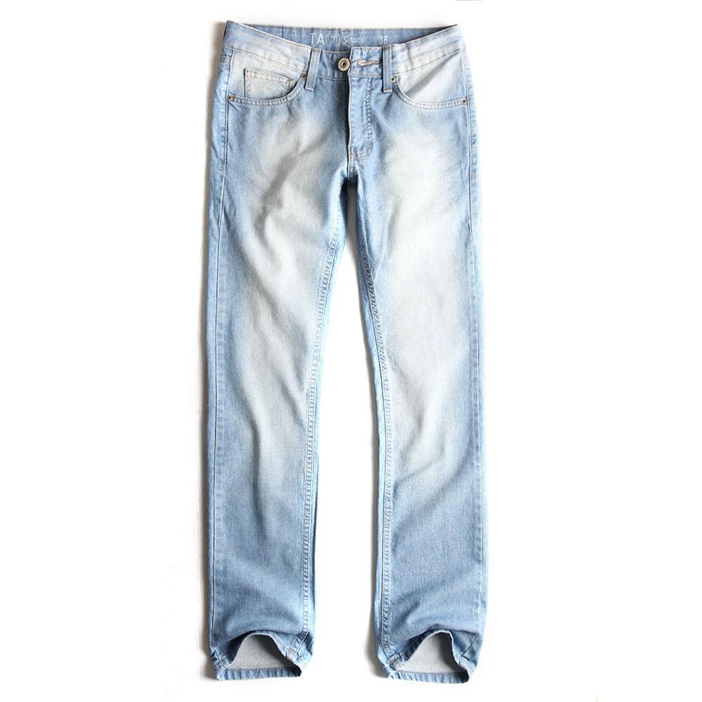 Calca-Jeans-Slim-Destroyer-Claro-Used