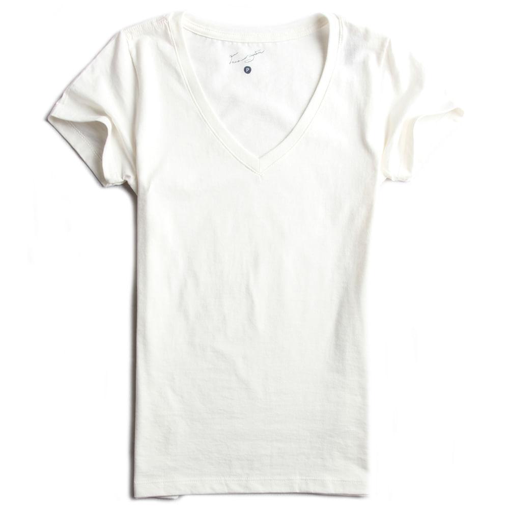 Camisa-Malha-Gola-V-Peletizada-Off-White-Feminina