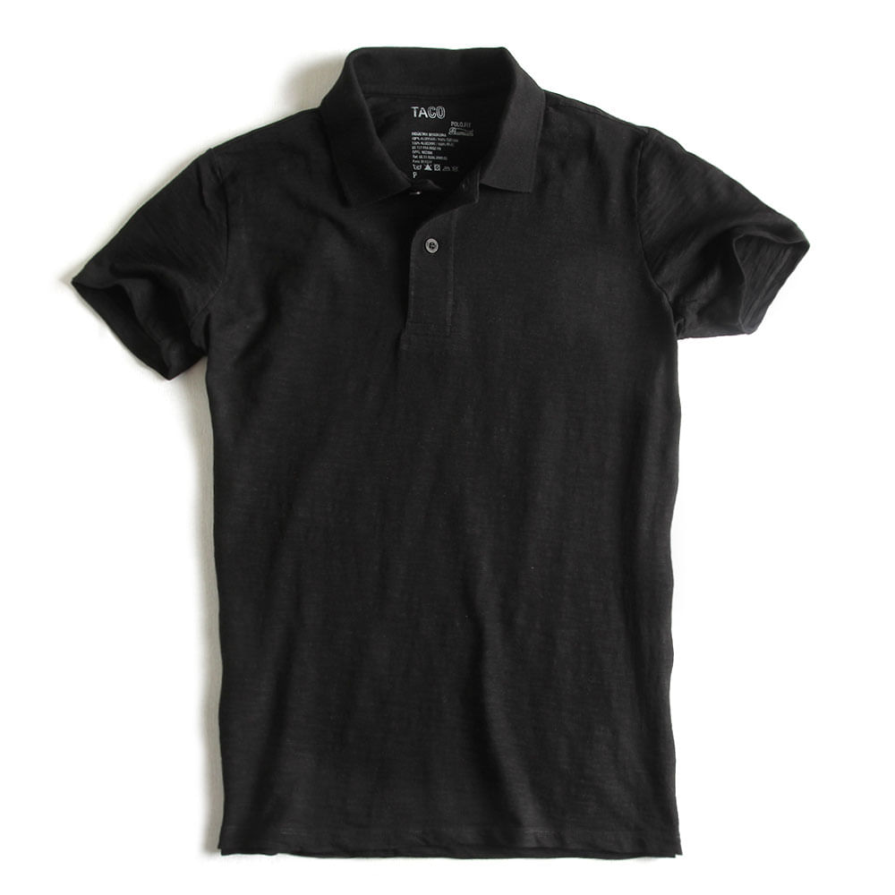 Camisa-Mallha-Polo-Fit-Premium-Preta