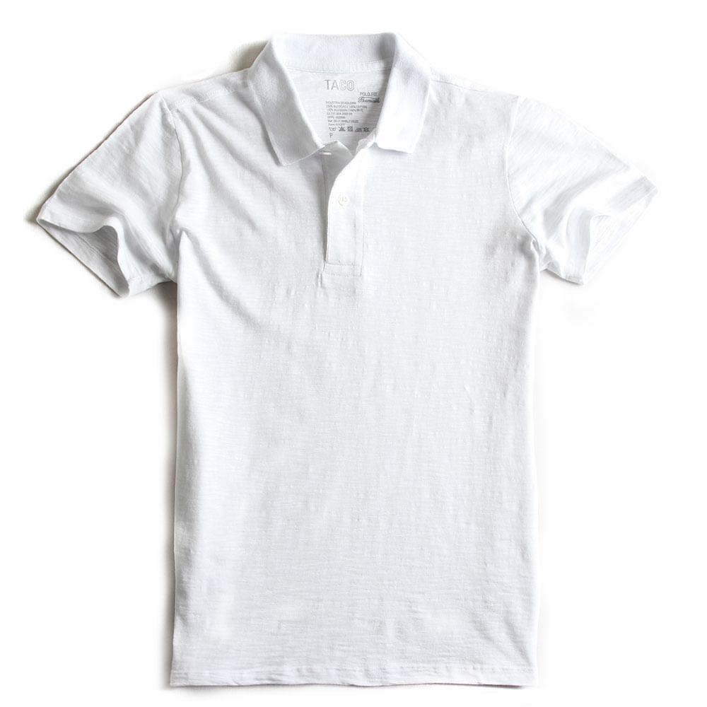 Camisa-Polo-Fit-Premium-Branca