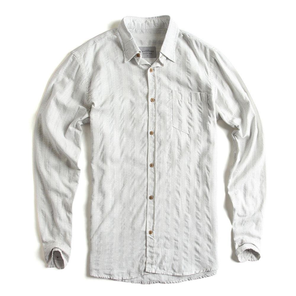 Camisa-de-Tecido-Kame-Manga-Longa-Off-White-Azul