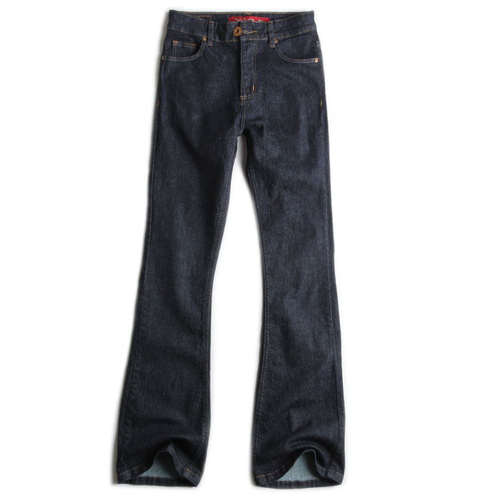 Calca-Jeans-Escuro-Flare-Feminina