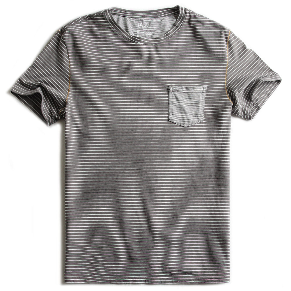 T-shirt-Com-Bolso-Listrada-Cinza-Off-White