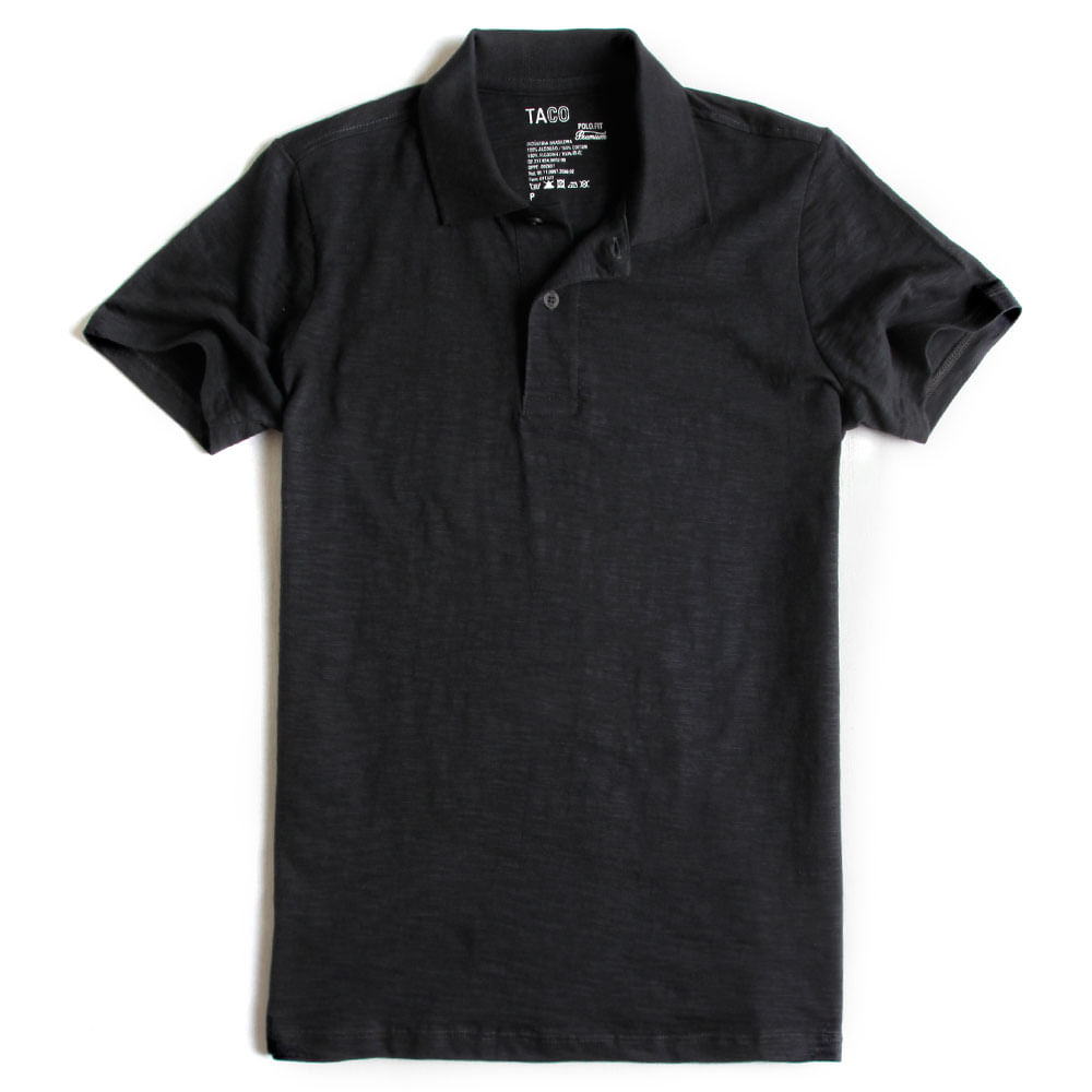 Camisa-Polo-Fit-Premium-Chumbo