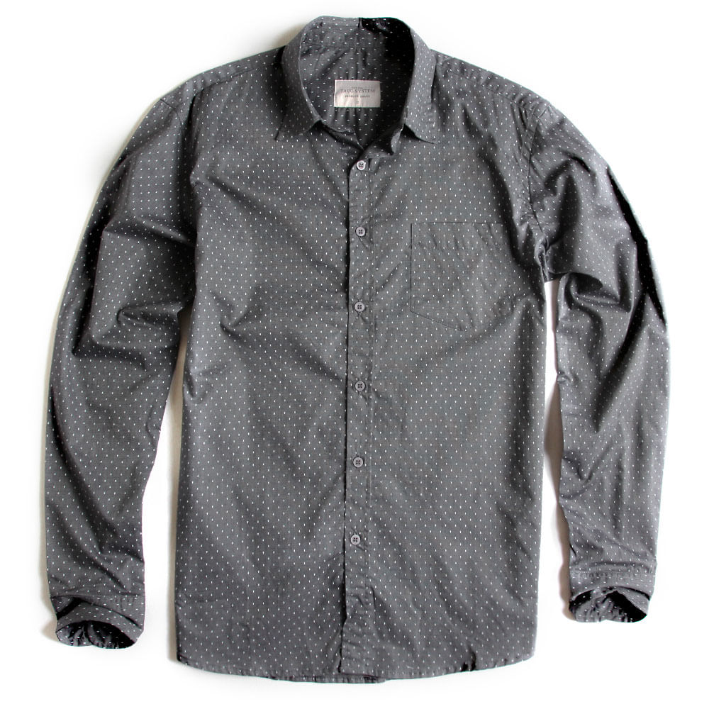 Camisa-De-Tecido-Estampada-Manga-Longa-Grafite