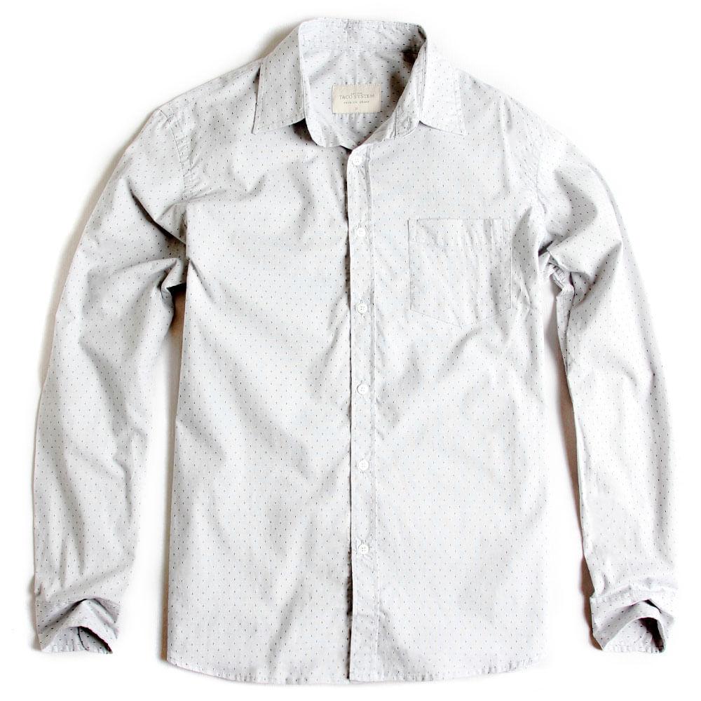 Camisa-De-Tecido-Estampada-Manga-Longa-Cinza