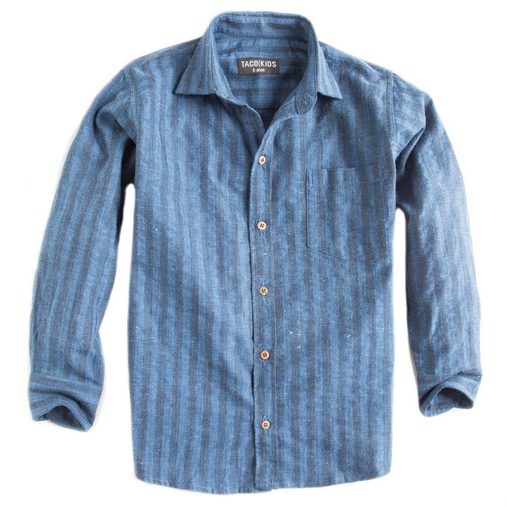 Camisa-DeTecido-Listrada-Azul-Infantil-Masculina