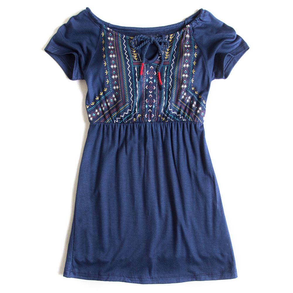 Vestido-Azul-Marinho-Infantil