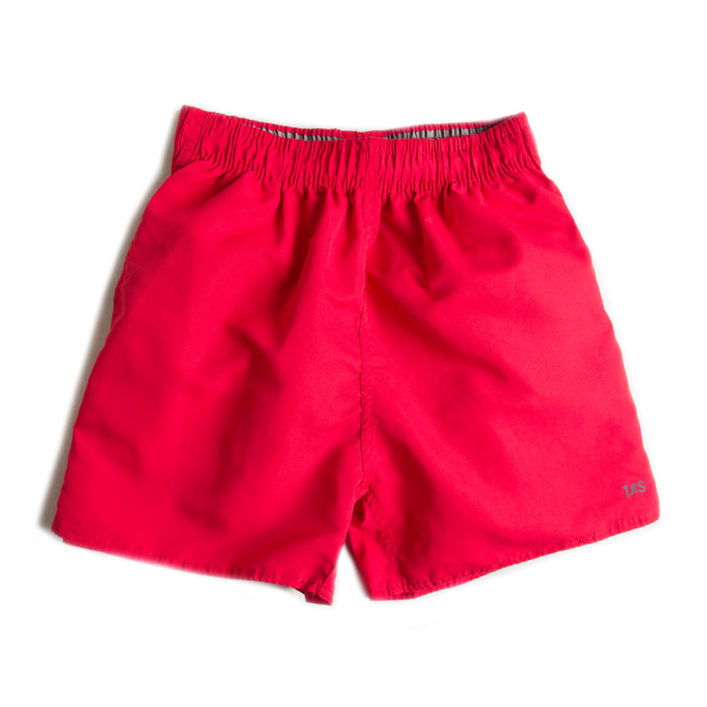 Short-Microfibra-Liso-Vermelho