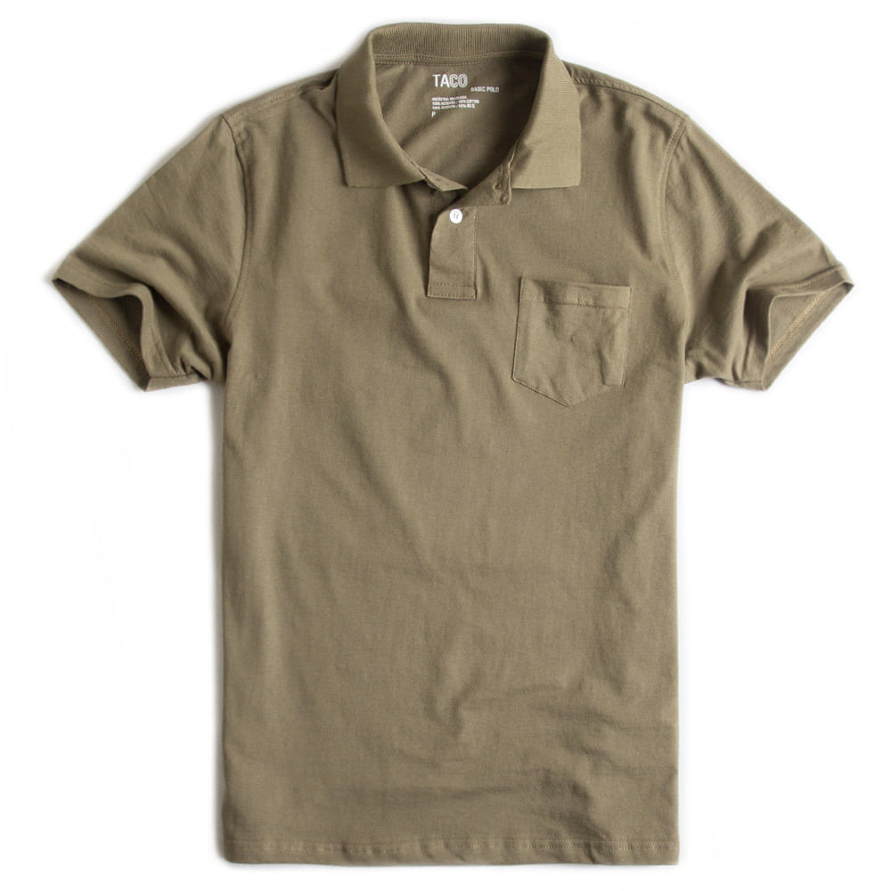 Camisa-Polo-Basica-Com-Bolso-Verde-Militar