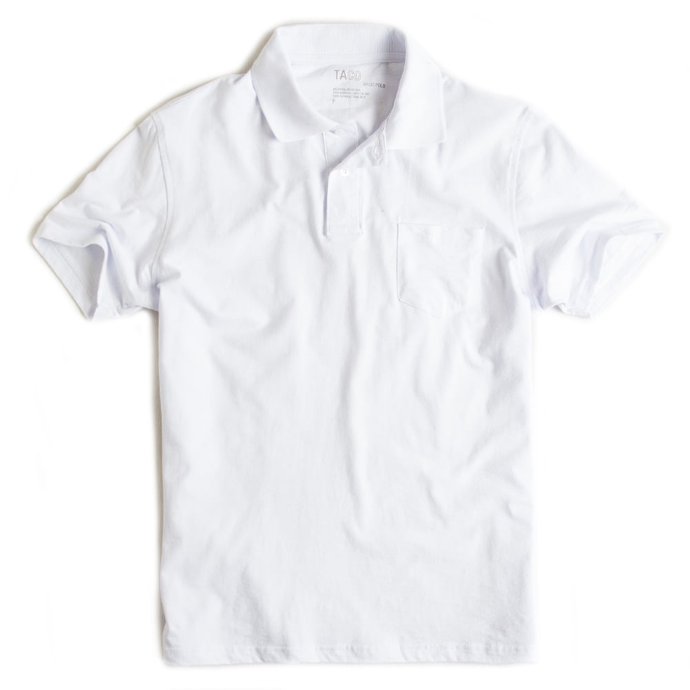 Camisa-Polo-Basica-Com-Bolso-Branca