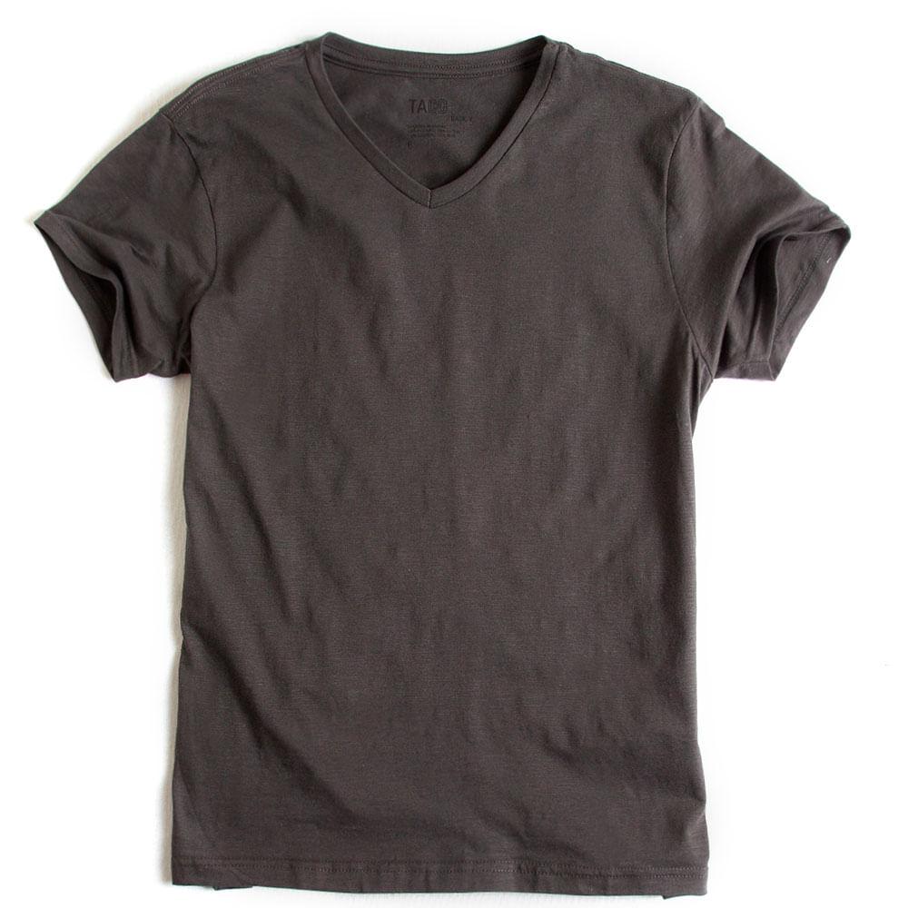 T-shirt-Gola-V-Flame-Basica-Chumbo