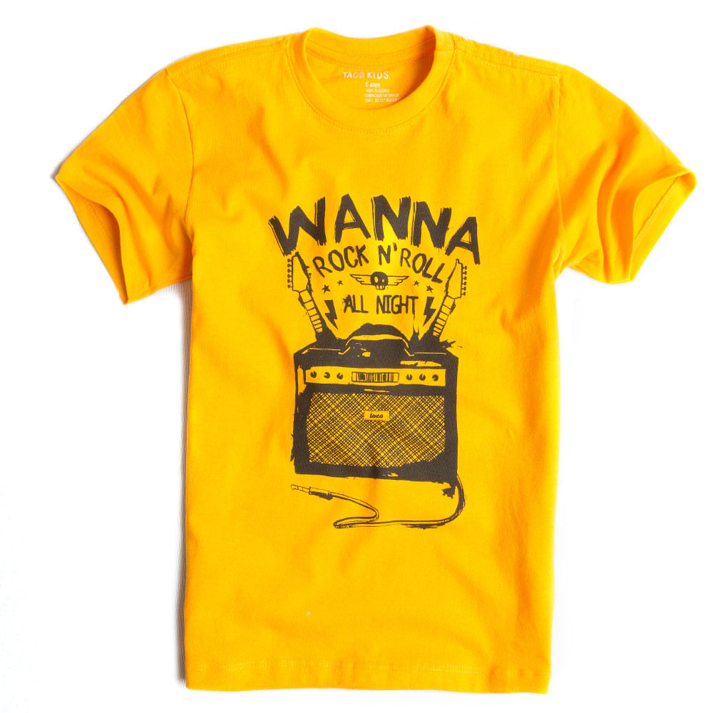 T-shirt-Estampada-Amarelo-Infantil-Masculino